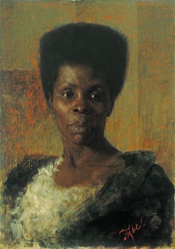 marie benoist portrait of a black woman 4