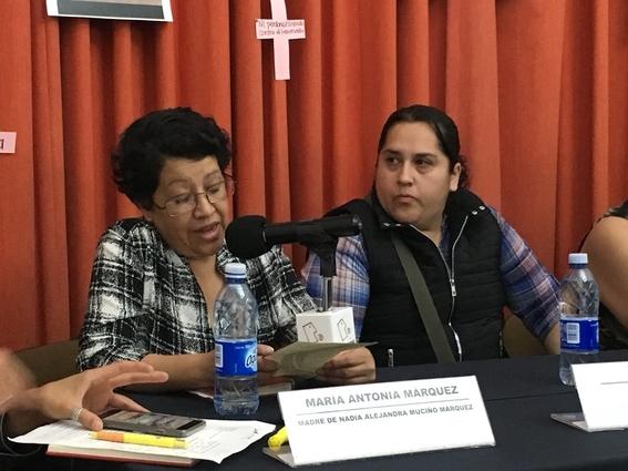 familiares victimas de feminicidio buscan justicia en la cidh 2