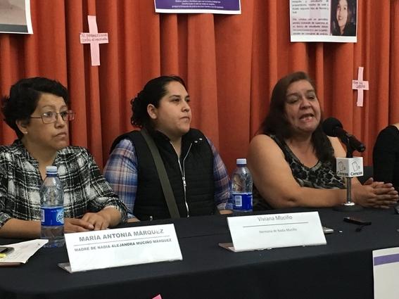 familiares victimas de feminicidio buscan justicia en la cidh 3