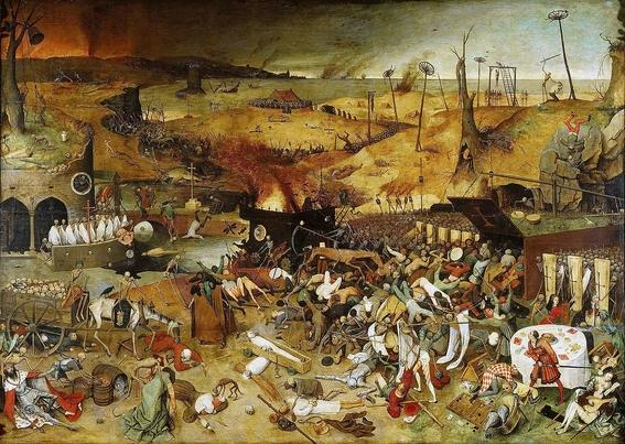representaciones de la muerte en la pintura 8