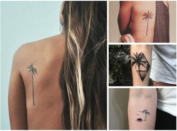 tatuajes de palmeras 2
