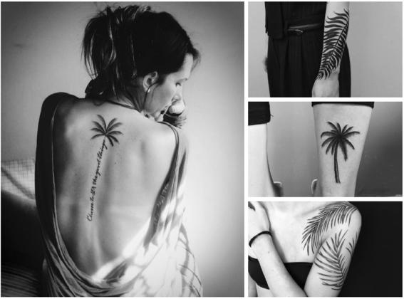 tatuajes de palmeras 3