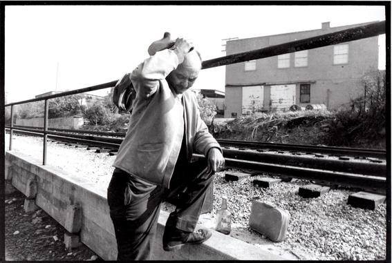 fotografias de john freesobre vagabundos en eu 2