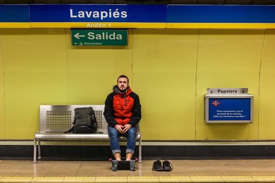 fotografias del metro de madrid 1