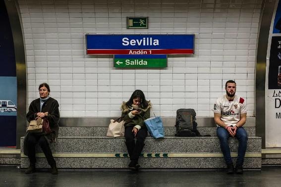 fotografias del metro de madrid 2