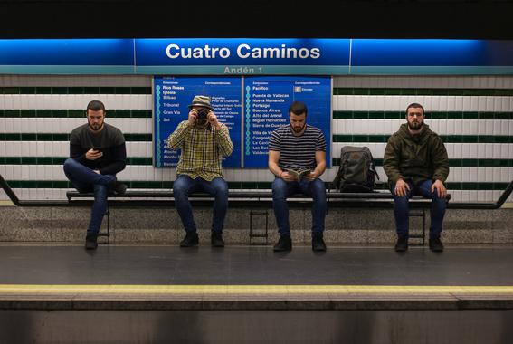 fotografias del metro de madrid 5