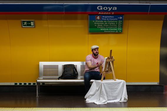 fotografias del metro de madrid 6