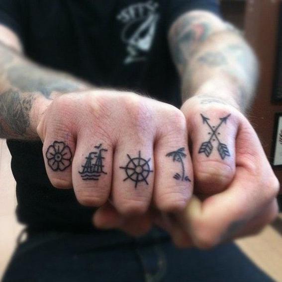tatuajes en las manos 9