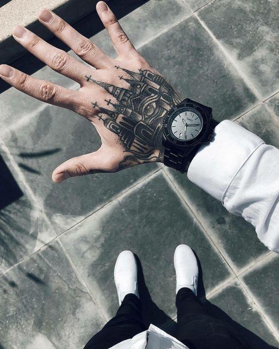 tatuajes en las manos 10