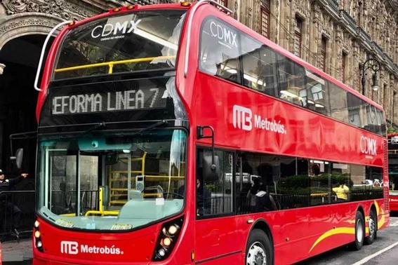 inicia recorrido de linea 7 del metrobus 1