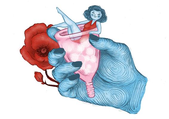 que es y como usar la copa menstrual 8