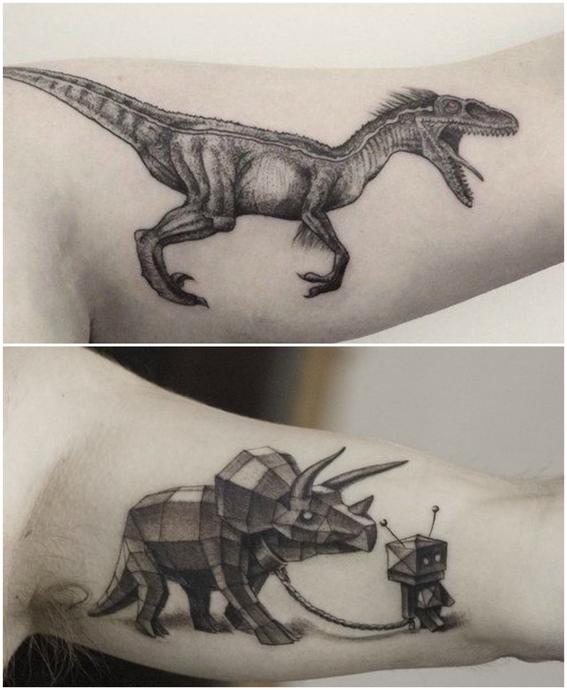 disenos de tatuajes de animales 4