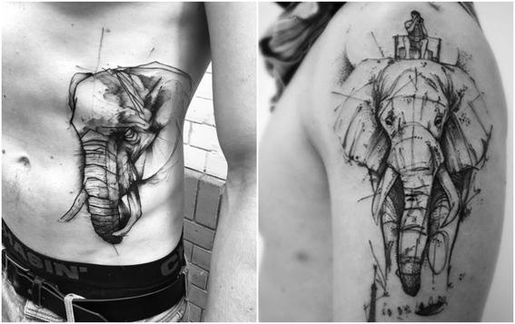 disenos de tatuajes de animales 5