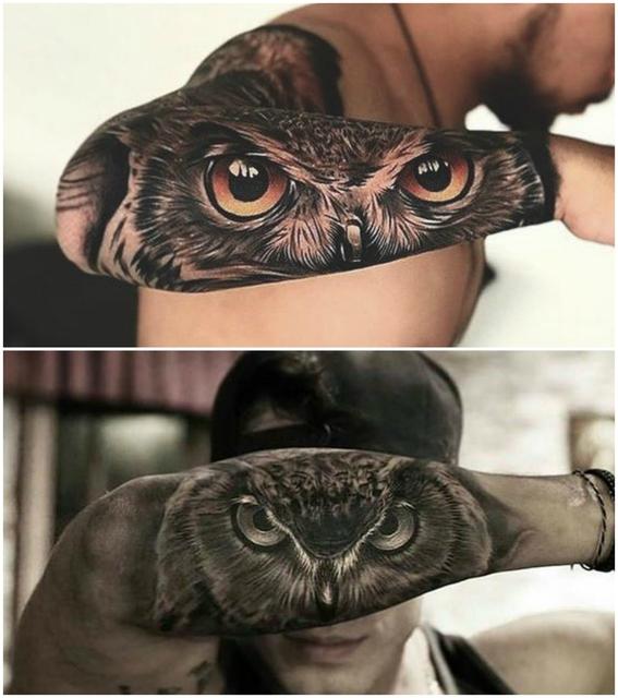 22 dise os de tatuajes de animales perfectos para hombres for Inmobiliaria el buho