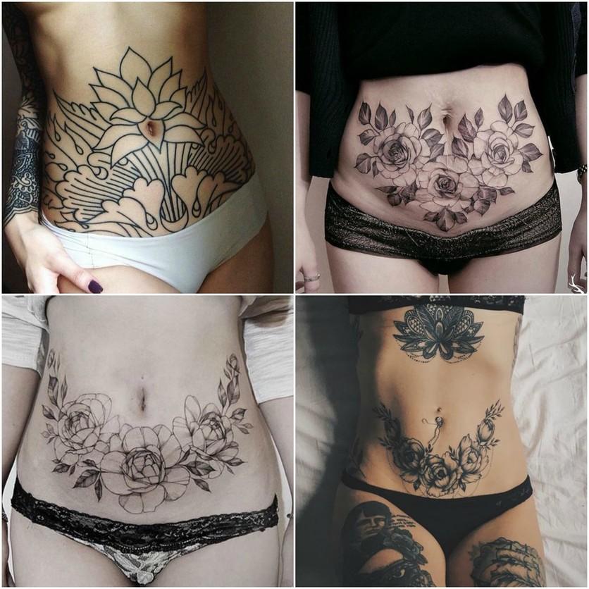 Tatuajes En El Estomago Para Tapar Estrias Tatuajes