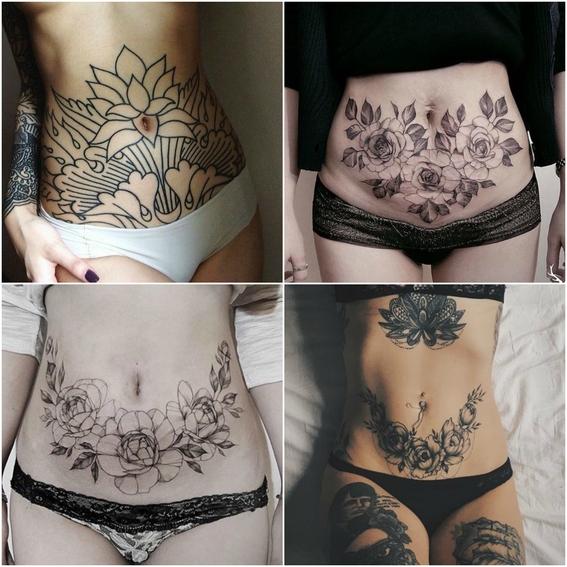tatuajes para tapar estrias 8