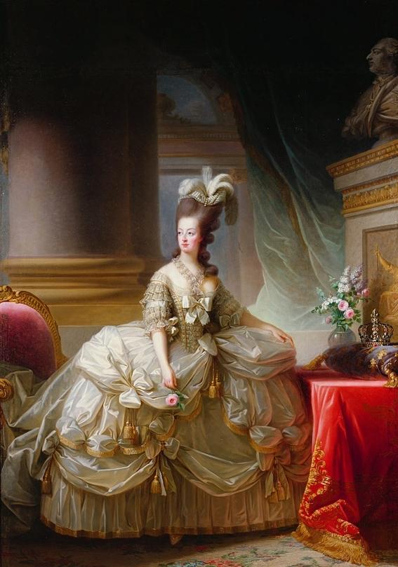 marieantoinette life in paintings 9