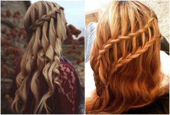 peinados para cabello lacio 4