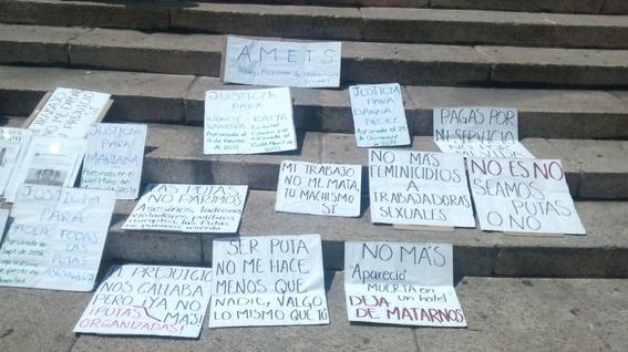 exigen trabajadoras sexuales justicia por feminicidios en mexico 3