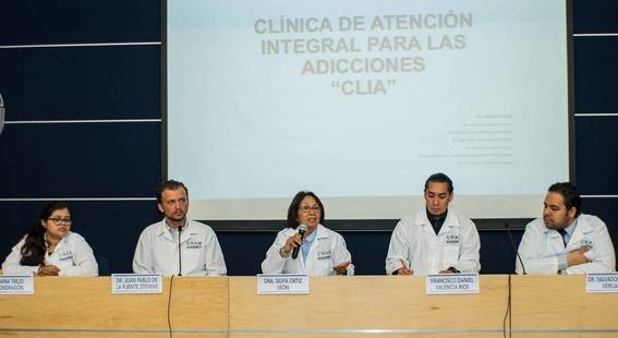 abren clinica de adicciones en la unam 1