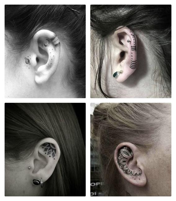 tatuajes en las orejas 1