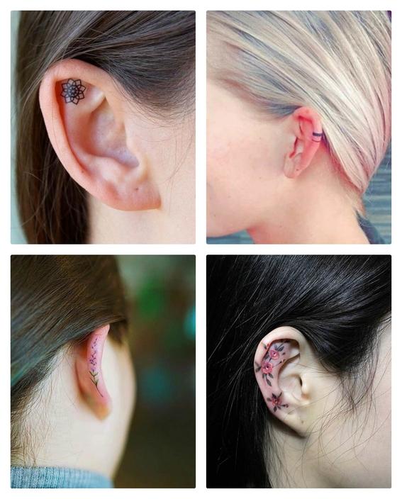 tatuajes en las orejas 5