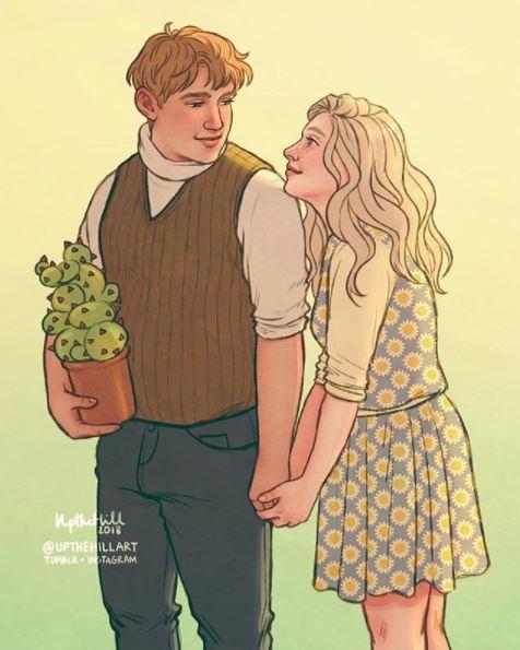 ilustraciones romanticas de upthehill 10