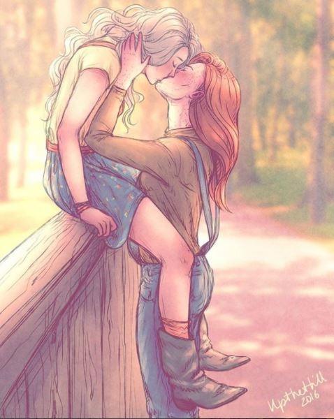 ilustraciones romanticas de upthehill 11