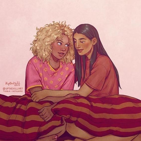 ilustraciones romanticas de upthehill 14
