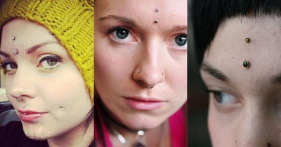third eye piercing 1
