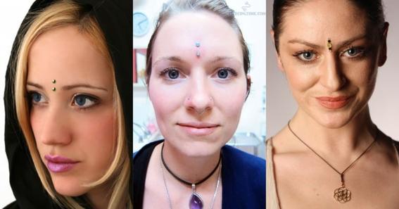 third eye piercing 2