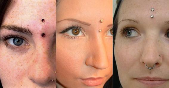third eye piercing 3