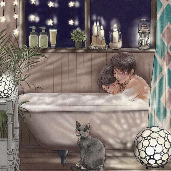 ilustraciones de haruna hiraizumi 7