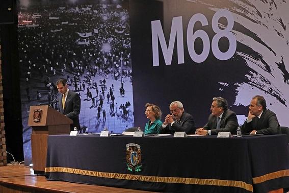 la unam crea el m68 para conmemorar movimiento estudiantil 3