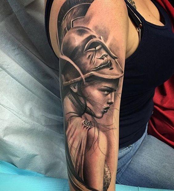 tatuajes de diosas griegas 7