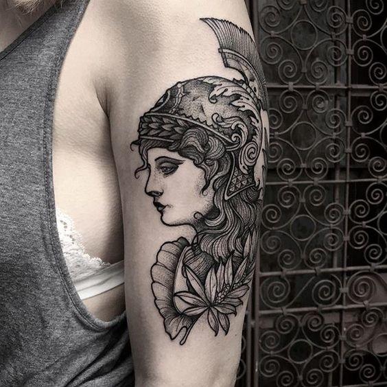 tatuajes de diosas griegas 9