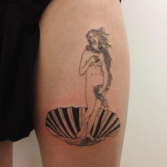 tatuajes de diosas griegas 13