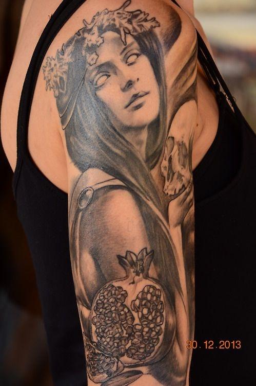 tatuajes de diosas griegas 2