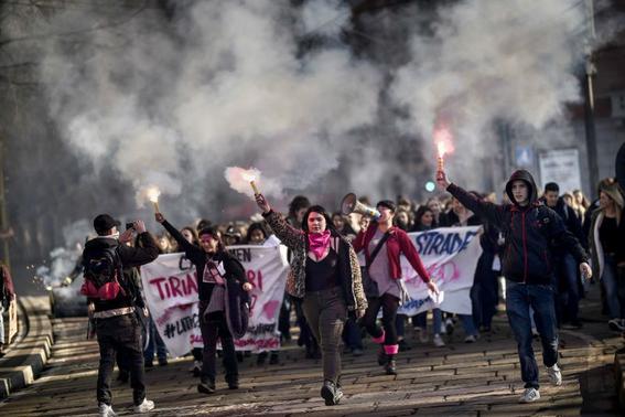 en fotos asi fueron las marchas por el dia internacional de la mujer 1