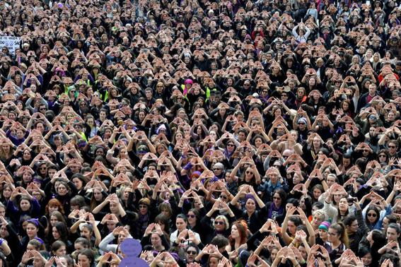 en fotos asi fueron las marchas por el dia internacional de la mujer 3