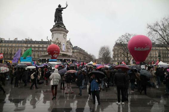 en fotos asi fueron las marchas por el dia internacional de la mujer 6