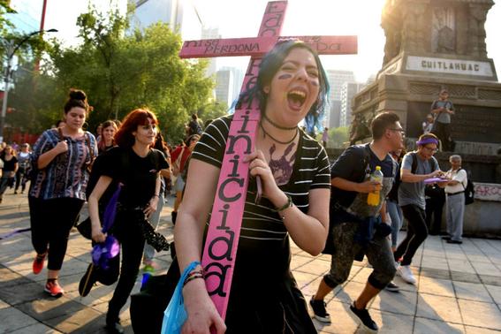 en fotos asi fueron las marchas por el dia internacional de la mujer 8