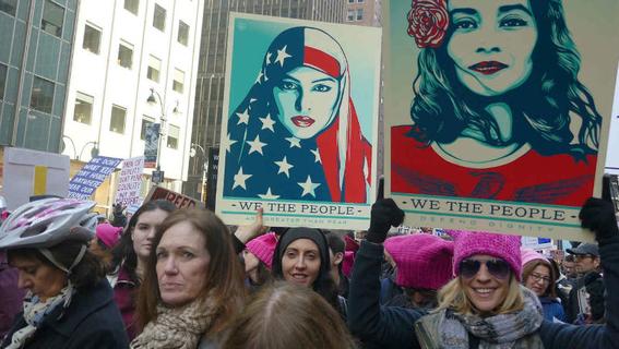 en fotos asi fueron las marchas por el dia internacional de la mujer 9