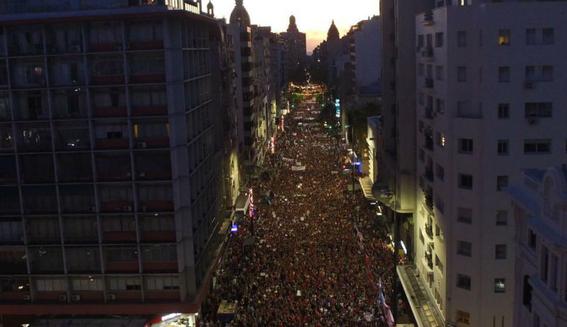 en fotos asi fueron las marchas por el dia internacional de la mujer 15