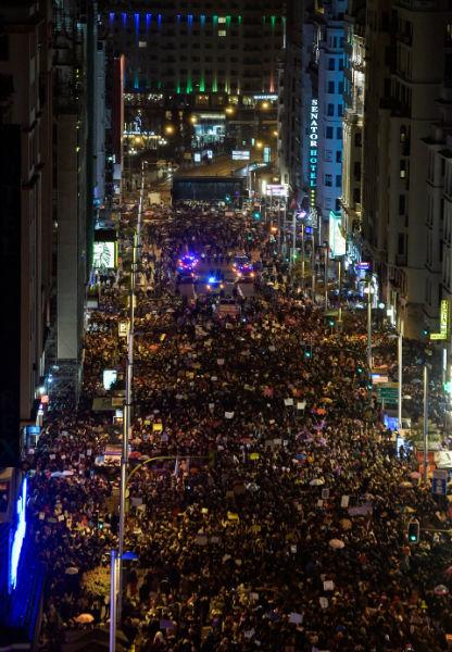en fotos asi fueron las marchas por el dia internacional de la mujer 13