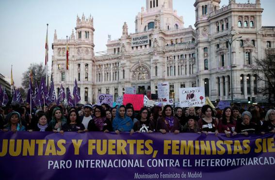 en fotos asi fueron las marchas por el dia internacional de la mujer 14