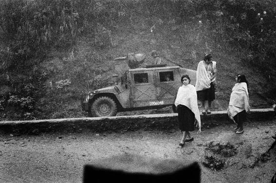 fotografias de la guerra de chiapas contra el gobierno 6