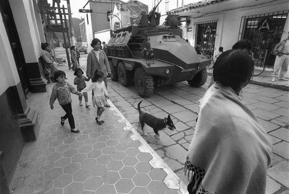 fotografias de la guerra de chiapas contra el gobierno 7