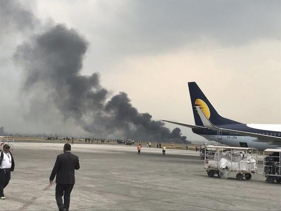 se estrella avion en aeropuerto de nepal 3