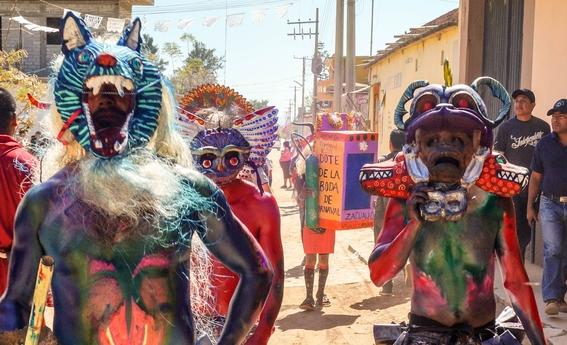 oaxaca sus tradicionales carnavales 1